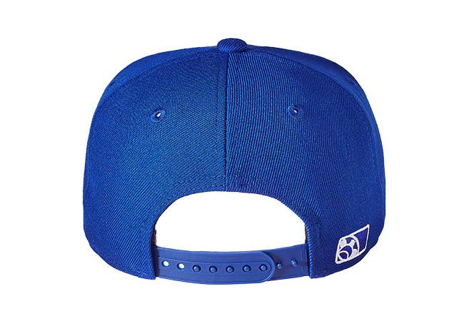 Snapback Cap Blau 62 Rückseite