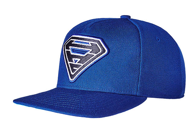 Snapback Cap blau 62 Seitenansicht