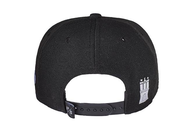 Snapback Cap Schwarz 534 Rückseite