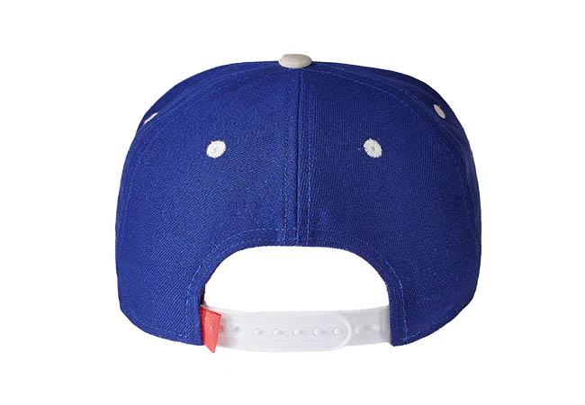 Snapback Cap Lila 586 Rückseite