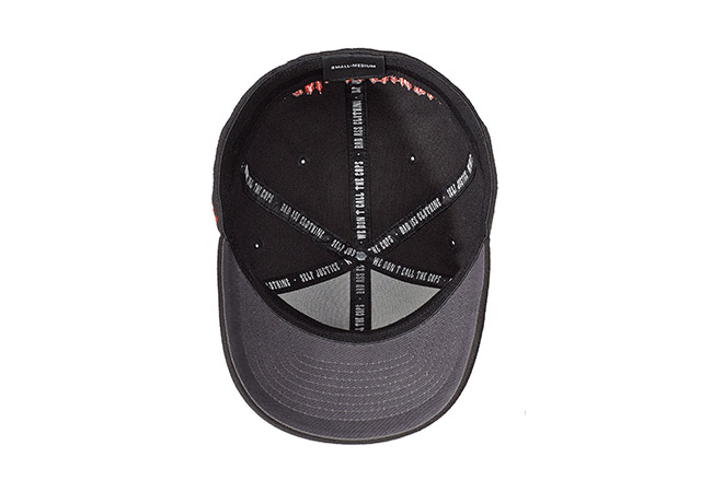 Flexible Cap Schwarz 569 Unterseite
