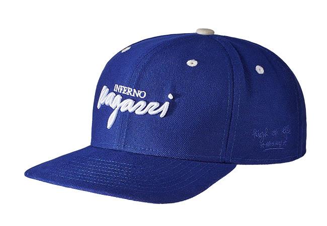 Snapback Cap lila 586 Seitenansicht
