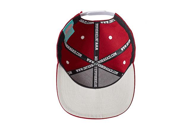 Snapback Cap Rot 577 Unterseite