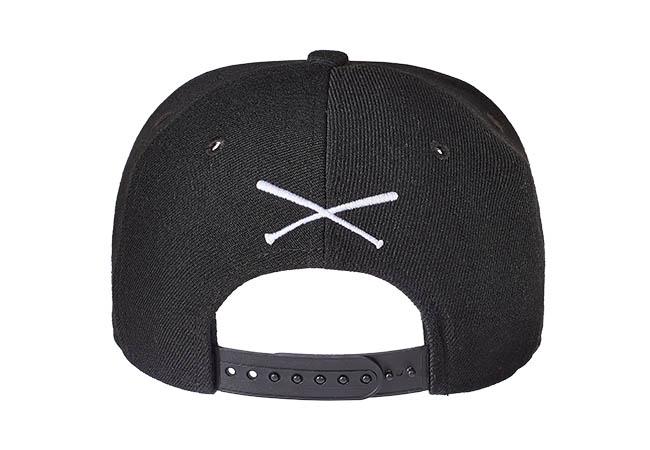Snapback Cap Schwarz 548 Rückseite