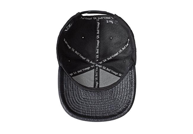 Snapback Cap Schwarz 595 Unterseite