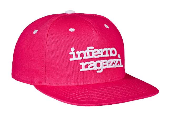 Snapback Cap Pink 799 Seitenansicht