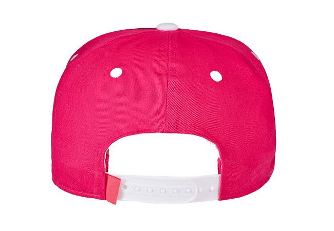 Snapback Cap Pink 799 Rückseite