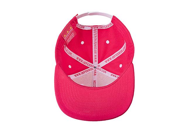 Snapback Cap Pink 799 Unterseite