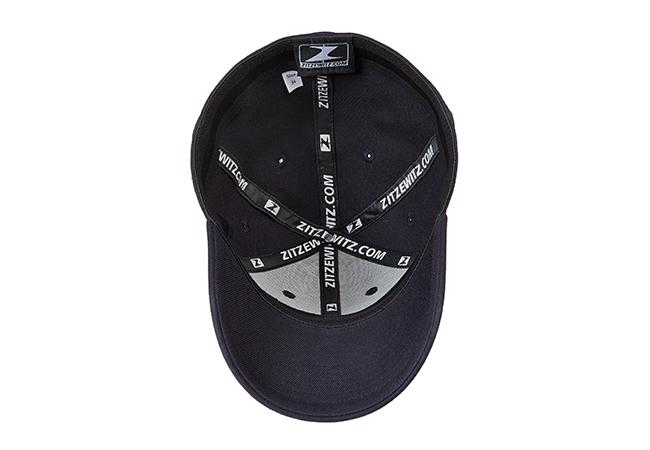 Snapback Cap Schwarz 780 Unterseite
