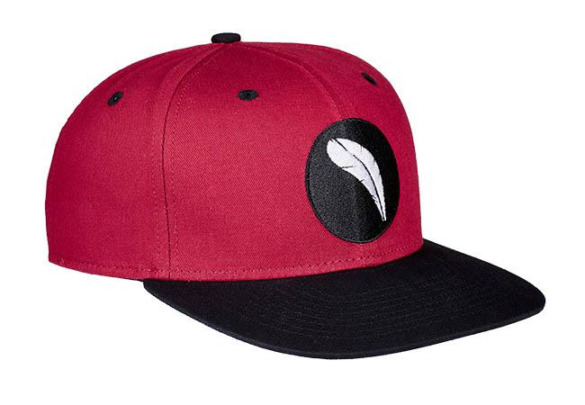 Snapback Cap Rot 860 Seitenansicht